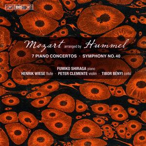 Mozart: 7 Piano Concertos - Symphony No. 40 arranged by Johann Nepomuk Hummel