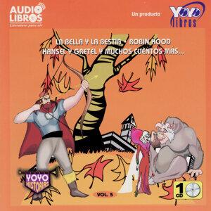 La Bella y la Bestia, Robin Hood, Hansel y Gretel y Muchos Cuentos Más: Vol. 5 (Abridged)
