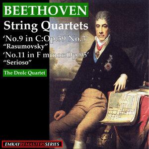 "Beethoven: String Quartets ""Rasumovsky"" No.9 in C:Op.59 No.3 - ""Serioso"" No.11 in F Minor Op95 (Remastered)"