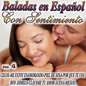 Baladas En Español Con Sentimiento Vol.4