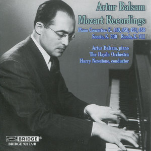 Artur Balsam: Mozart Recordings