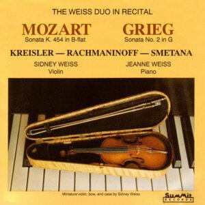 The Weiss Duo in Recital