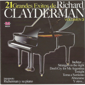 21 grandes exitos de Richard Clayderman