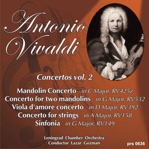Antonio Vivaldi. Concerto for Two Mandolins in G Major RV532