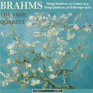 Brahms: String Quartet no. 2 in A minor op.51, - String Quartet no. 3 in B flat major op. 67 (Remastered)