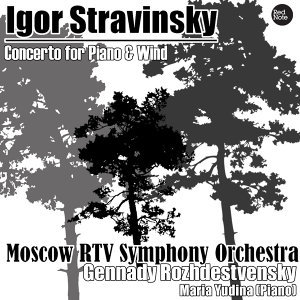 Stravinsky: Concerto for Piano & Wind