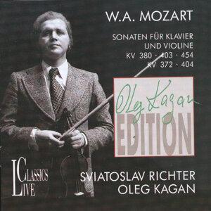 Wolfgang Amadeus Mozart: Oleg Kagan Edition, Vol. III - Sonaten für Klavier und Violine