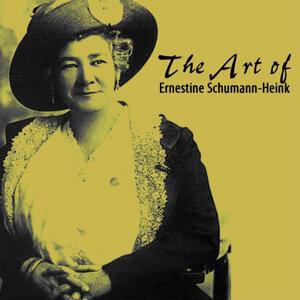 The Art Of Ernestine Schumann-Heink