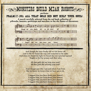 Psalm 57 / All That Gold Did Not Help Your Soul! - Single