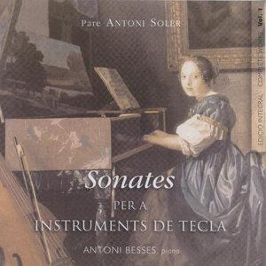 Pare Antoni Soler Sonatas For Keyboard Vol. 1