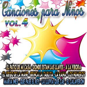 Canciones Para Niños Vol.4