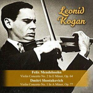 Felix Mendelssohn: Violin Concerto No. 2 In E Minor, Op. 64 / Dmitri Shostakovich: Violin Concerto No. 1 In A Minor, Op. 77