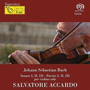 Johann Sebastian Bach : Sonate No. 1-3 - Partite No. 1-3 per violino solo