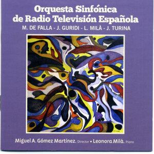 Orquestra Sinfonica RTE Falla Guridi Mila Turina