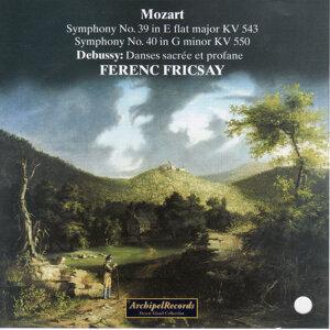 Mozart: Symphonies Nos. 39 & 40 - Fricsay