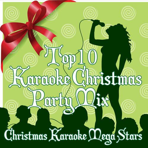 Karaoke Christmas Party.Christmas Mega Stars Top 10 Karaoke Christmas Party Mix