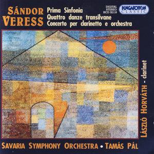 Sándor Veress, Prima Sinfonia, Quattro danze transilvane, Concerto per clarinetto e orchestra