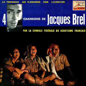 "Vintage World Nº 79 - EPs Collectors, ""4 Chansons De Jacques Brel"""