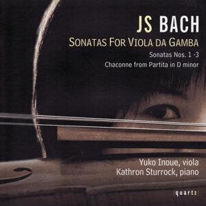 J S Bach Sonatas For Viola Da Gamba