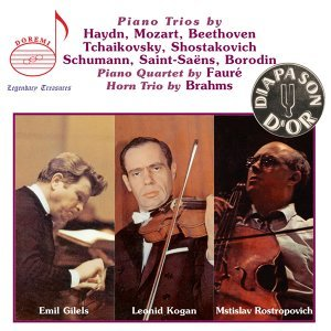 The Gilels-Kogan-Rostropovich Trio Recordings