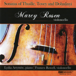 Sonatas of Thuille, Tovey and Dohnanyi