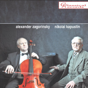 Nikolai Kapustin. Works for Piano and Cello