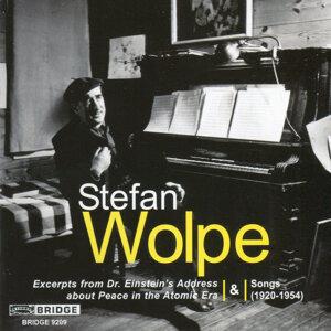 Wolpe: Songs (1920-1954)