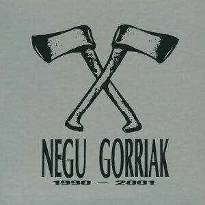 Negu Gorriak 1990 - 2001 (Zuzenean)