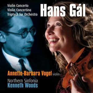 Gál: Violin Concerto, Triptych for Orchestra, Violin Concertino