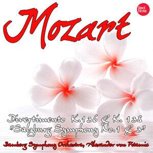 """Mozart: Divertimento K.136 & K. 138 """"Salzburg Symphony No.1 & 3"""""""