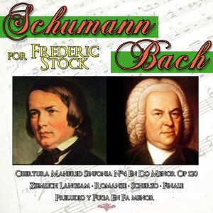 Schumann & Bach por Frederick Stock. Música Clásica