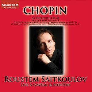 Chopin: Live à Gaveau & Menton