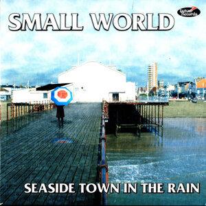 Seaside Town in the Rain