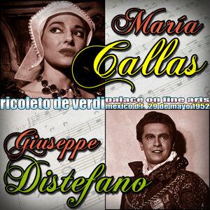 Rigoletto de Verdi. María Callas & Giuseppe Di Stefano. Palace of Fine Arts. Mexico D.F. 29 De Mayo De 1952