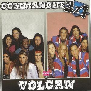 Commanche vs Volcan 2 x 1