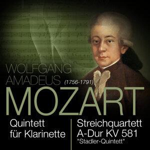 """Mozart: Klarinettenquintett A-Dur KV 581 """"Stadler Quintett"""""""