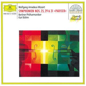モ-ツァルト:交響曲第25番、第29番、第31番《パリ》