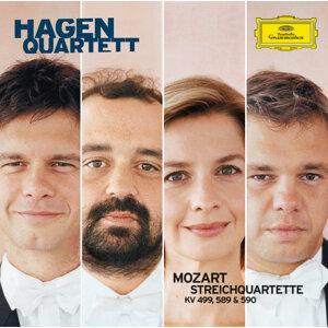 モーツァルト:弦楽四重奏曲第20、22、23番
