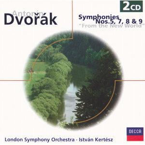 Dvorak: Symphonies Nos.5, 7, 8 & 9 - 2 CDs