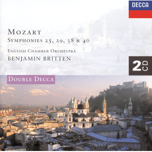 Mozart: Symphonies Nos. 25, 29, 38 & 40 etc. - 2 CDs
