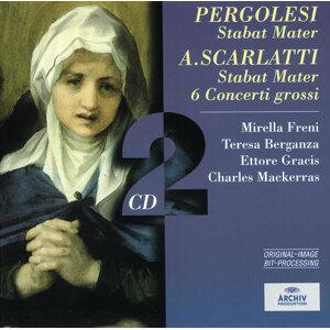 Pergolesi: Stabat Mater / Scarlatti: Stabat Mater; 6 Concerti grossi - 2 CDs