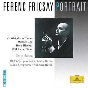 Ferenc Fricsay Portrait - von Einem / Egk / Blacher / Liebermann