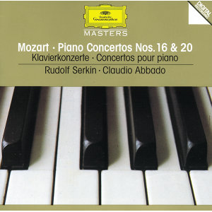 Mozart: Piano Concertos Nos.16 & 20
