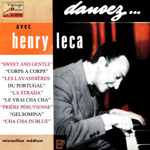 "Vintage Dance Orchestras Nº 123 - EPs Collecto ""Dancing Avec Henry Leca"""