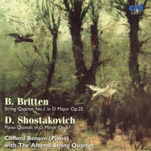 Britten, String Quartet No.1 /Shostakovich, Piano Quintet