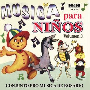 Musica Para Niños Volumen 3