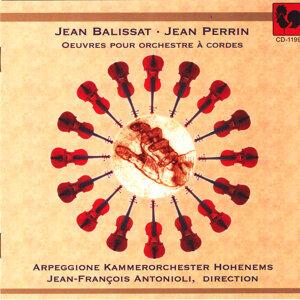 Jean Balissat - Jean Perrin: Œuvres pour orchestre à cordes