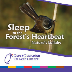 Sleep to the Forest's Heartbeat: New Zealand Rainforest with Mother's Heartbeat