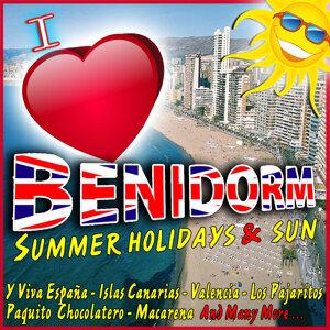 I Love Benidorm. Sommer und Sonne. Fiesta in Spanien
