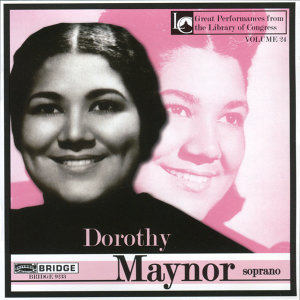 Dorothy Maynor in Concert